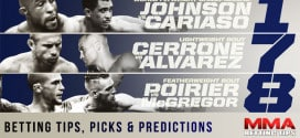 Betting Tips, Picks & Predictions For UFC 178